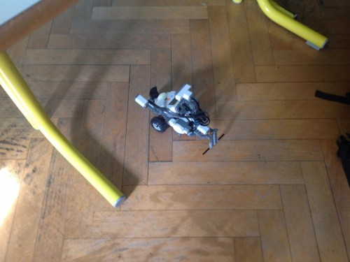 Robot Lego Mindstorm en action !