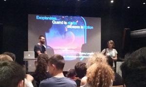 Conférence d'astronomie sur les exoplanètes