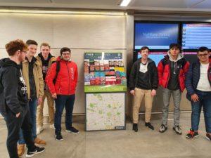 À l'aéroport de Milan