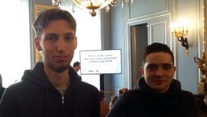 Cyrille et Lucas prêts à présenter