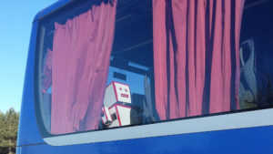 Robot en partance pour Bordeaux