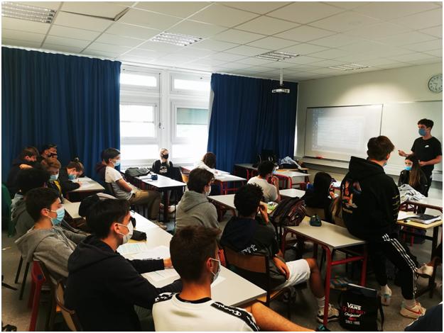 Participation des élèves à la « Coupe d'Europe pour le Climat »