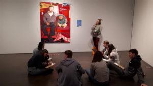 atelier au musée d'art moderne de Denver