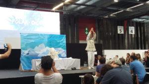 Polar-oïde sur scène : de la robotique et un scénario