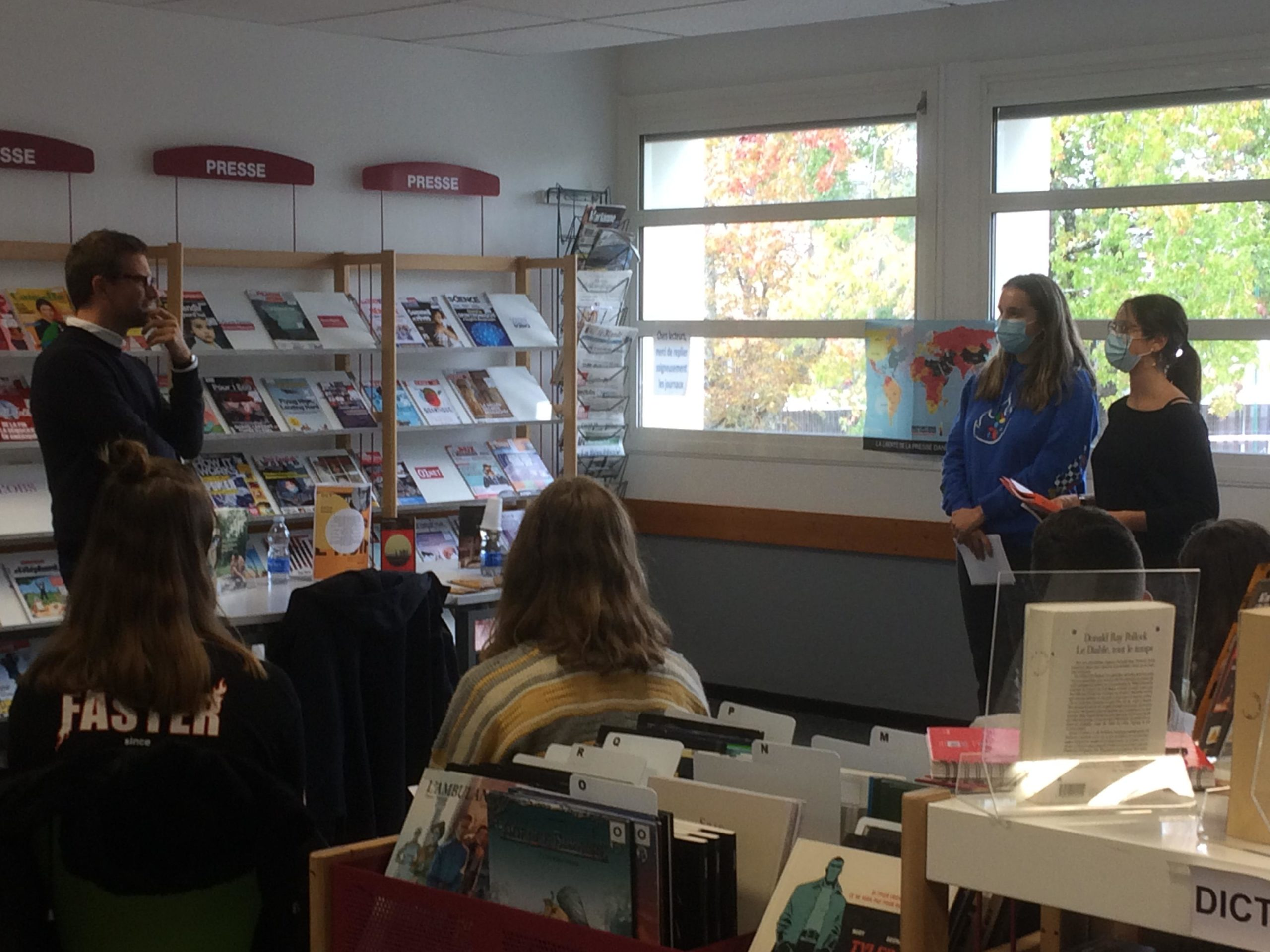 Les lycéens de St Cricq rencontrent Nicolas Mathieu, prix Goncourt